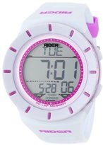 """Rockwell Time Unisex RCL107 """"Coliseum"""" Sport Watch with White Band"""