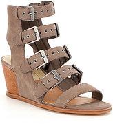 Dolce Vita Laken Buckle Strap Detail Wedge Sandals