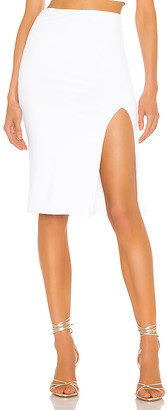 superdown Catie Fitted Midi Skirt