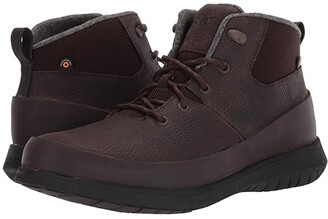 Bogs Freedom Lace Mid (Gray) Men's Shoes
