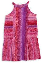 Calvin Klein Jeans Girls 7-16 Girls Dropped Waist Pleated Dress