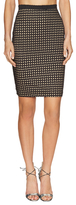 Whitney Eve Manfern Eyelet Pencil Skirt