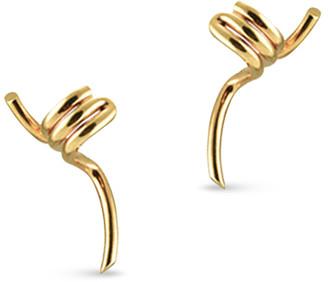 Celine Barbele Ear Cuff Earrings (Rose Gold-Tone)