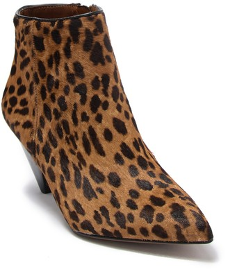Franco Sarto Delighted Genuine Dyed Calf Hair Bootie