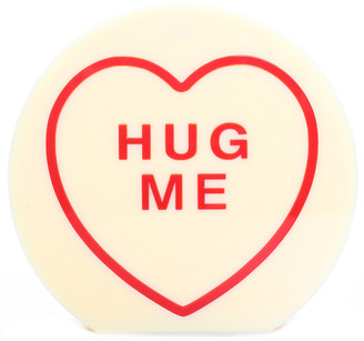 Charlotte Olympia Yellow Acrylic Hug Me Clutch, Never Carried
