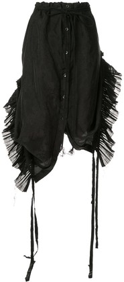 Ann Demeulemeester Pleated Inserts Skirt