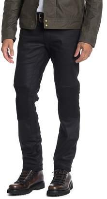 Belstaff Blackrod Slim Fit Raw Denim Moto Jeans