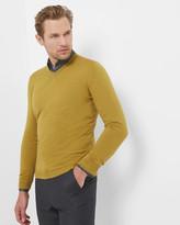 Ted Baker V-neck cashmere-blend jumper