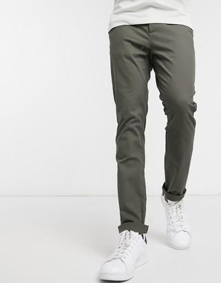Asos Design DESIGN skinny chinos in khaki