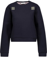 Carven Embellished Cotton Sweatshirt