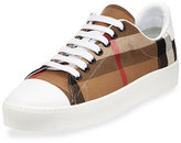 Burberry Westford Check Low-Top Sneaker, Classic Check