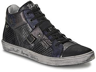 Ikks BRENDA girls's Shoes (High-top Trainers) in Grey