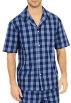 Nautica Buffalo Plaid Cotton Pajama Shirt