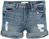 DL1961 Piper Cuffed Shorts (Big Girls)