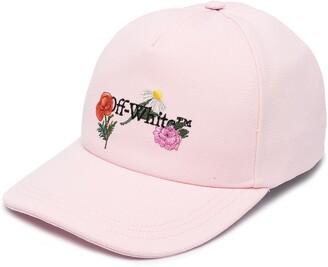 Off-White Flowers baseball cap
