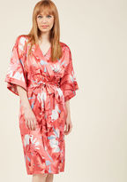MinkPink Brews on the Balcony Robe in Pink in XS, S - Other Wrap Long by from ModCloth
