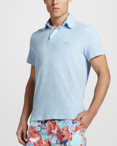 Vilebrequin Terry Polo, Light Blue