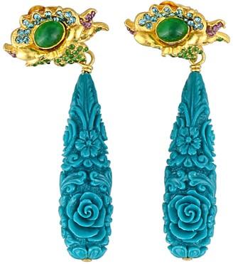 Katerina Psoma Resin Earrings
