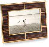 "Monica Rich Kosann High-Gloss Macassar Wood 4"" x 6"" Frame"