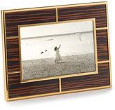 """Monica Rich Kosann High-Gloss Macassar Wood 4"""" x 6"""" Frame"""