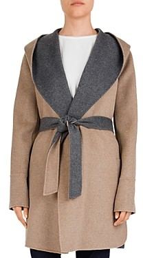 Gerard Darel Prague Double-Face Wool Coat