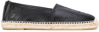 Saint Laurent Round Toe Espadrilles