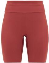 Vaara Millie High-rise Cycling Shorts - Womens - Burgundy