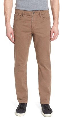 Liverpool Regent Relaxed Straight Leg Twill Pants