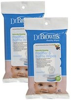 Dr Browns Dr. Brown's Pacifier and Bottle Wipes - 30 Pk (Set of Two) by Dr. Brown's