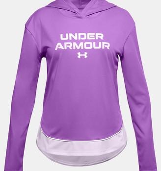 Under Armour Girls' UA Tech Graphic Hoodie