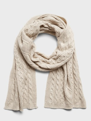 Banana Republic Cable-Knit Scarf