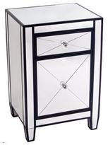 Cafe Lighting Apolo Bedside Table Black