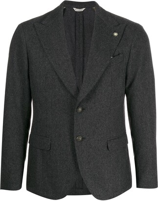 Manuel Ritz flap pocket blazer