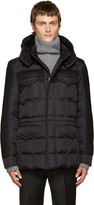 Moncler Black Down Jacob Jacket