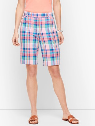 Talbots Perfect Shorts - Bermuda - Madras