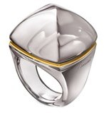 Baccarat Pop Crystal Ring.