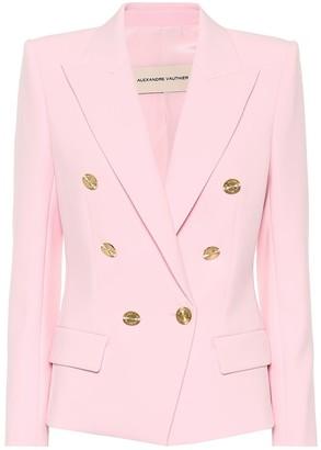 Alexandre Vauthier Stretch-crepe blazer