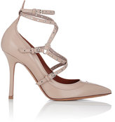 "Valentino Women's ""Love Latch"" Ankle-Strap Pumps-PINK"