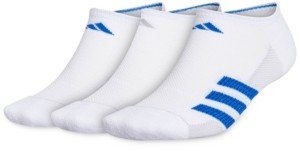 adidas 3-Pack Men's Superlite Stripe Ii No-Show Socks