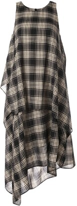 Forme D�expression Kerchief layered dress
