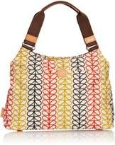 Orla Kiely 14SELIN024 Linear Stem Classic Shoulder Bag