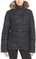Burton Traverse Waterproof Jacket with Faux Fur Trim