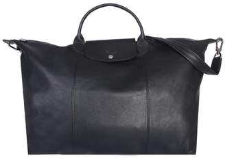 Longchamp Le Pliage Cuir Travel Bag