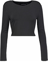 Needle & Thread Heritage Cropped Stretch-Jersey Top