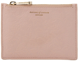 Aspinal of London Women's Essential Pouch Small Peach