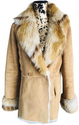 Balmain Camel Coat for Women Vintage