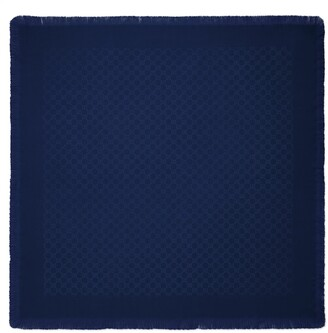 Gucci Children's GG wool silk shawl