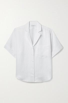Equipment Celeme Linen Shirt - White