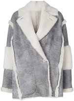 Drome double breasted coat - women - Lamb Skin - S