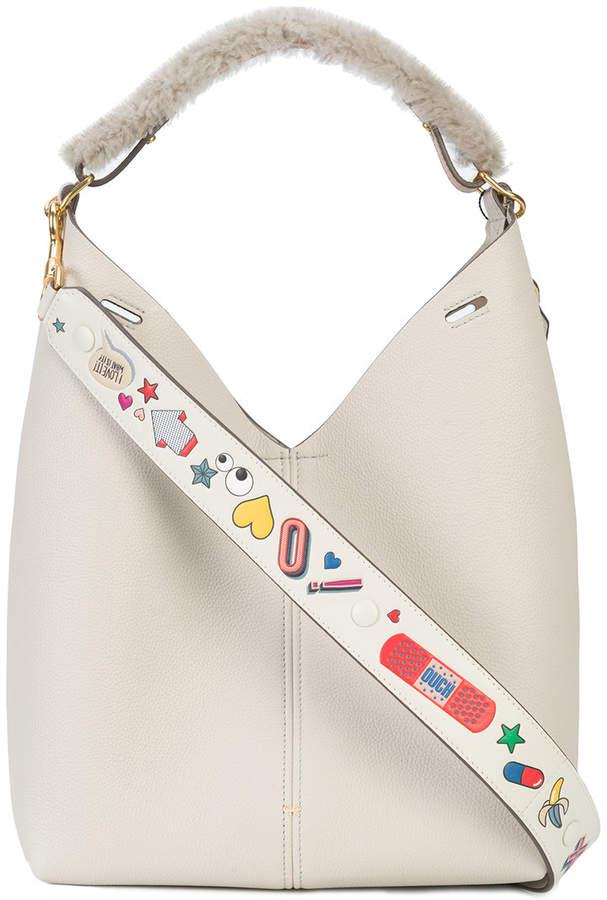 Anya Hindmarch double strap shoulder bag